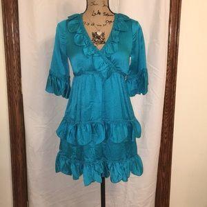 EUC Blue Betsey Johnson Dress
